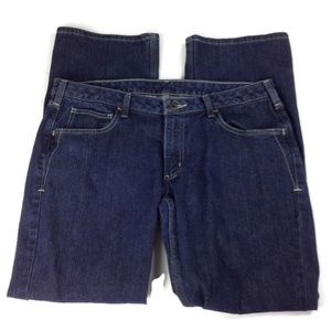 Carhartt Size 14 Stretch Dark Wash Jeans Women's